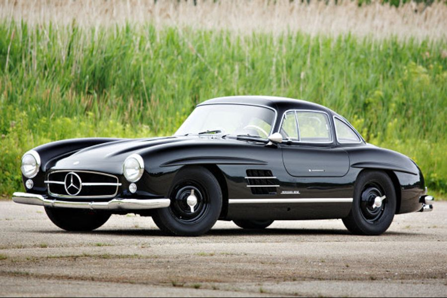 1955 Mercedes-Benz 300 SL Gullwing at Goodings Pebble Beach Auction