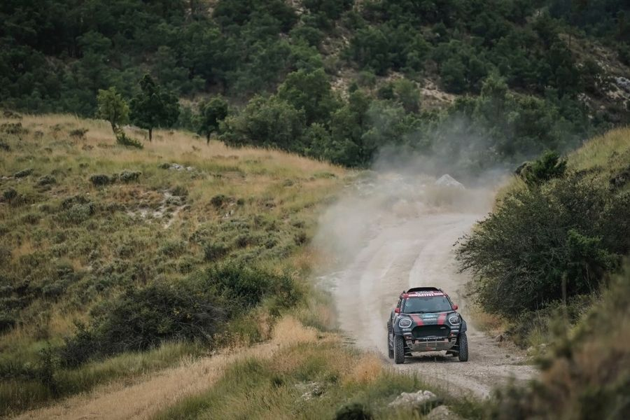 FIA Cross country: Two from two puts Terranova on top of Baja Aragón