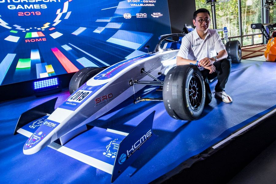 KCMG unveils Formula 4 car for inaugural FIA Motorsport Games