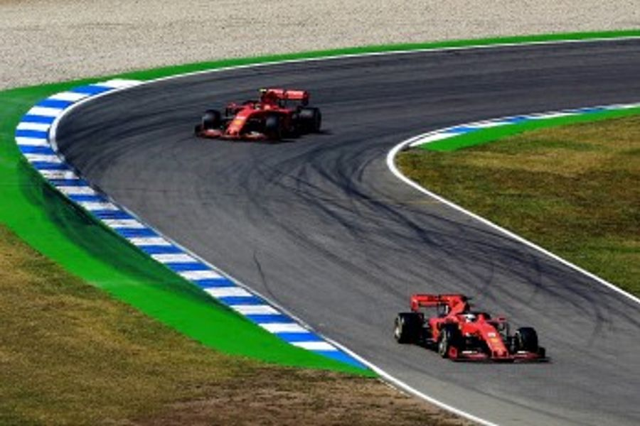 Disastrous double failure for Ferrari in German GP qualifying