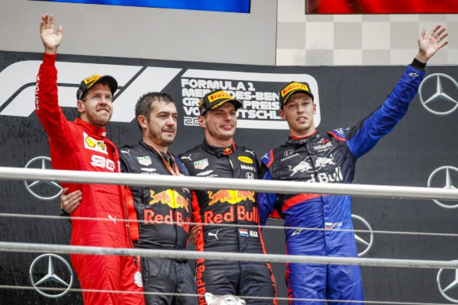 Verstappen wins incident packed German GP, disastrous home race for Mercedes