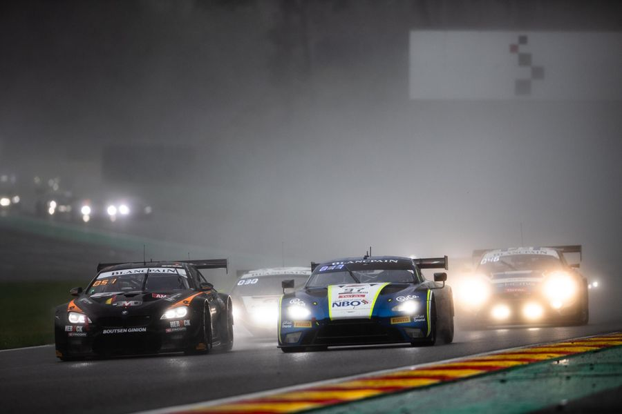 Aston Martin clinches first class victory in Spa 24hr