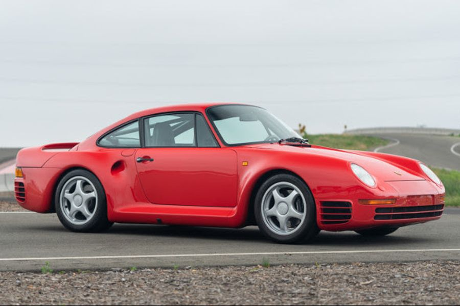 Rare, Iconic, and Historically Significant 1988 Porsche 959 Sport at Goodings