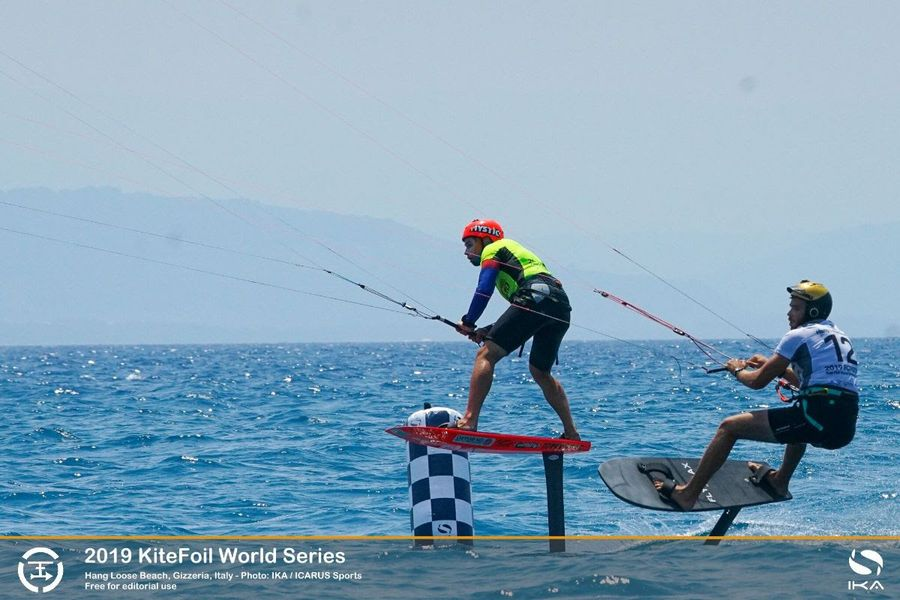 Kitefoil World Series: Vodisek victorious in Gizzeria