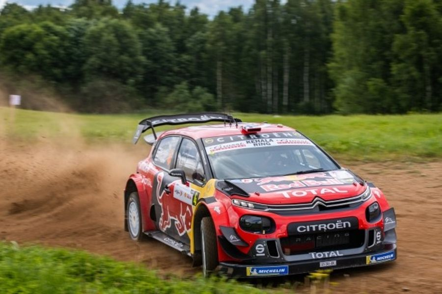 Citroen C3 WRC all set for roller coaster Rally Finland