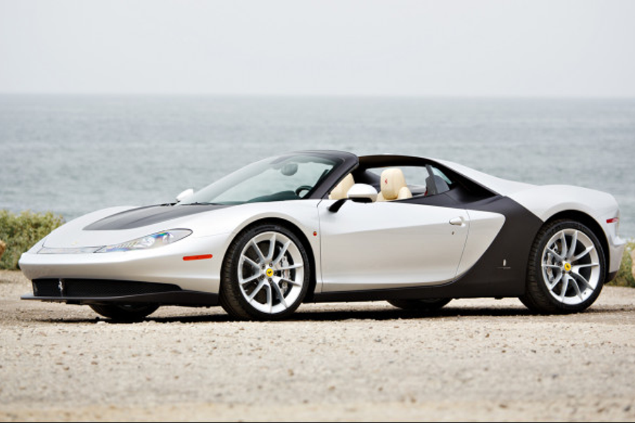 Ferrari Sergio: 1 of 6 production examples built,  to cross the block at Pebble Beach