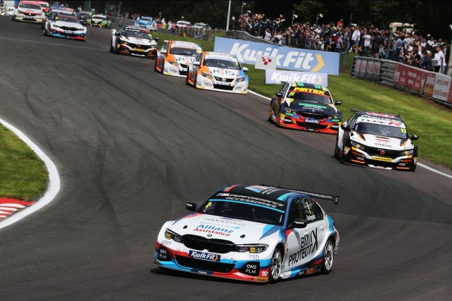 BMW stars focussed on further success as BTCC returns at Snetterton