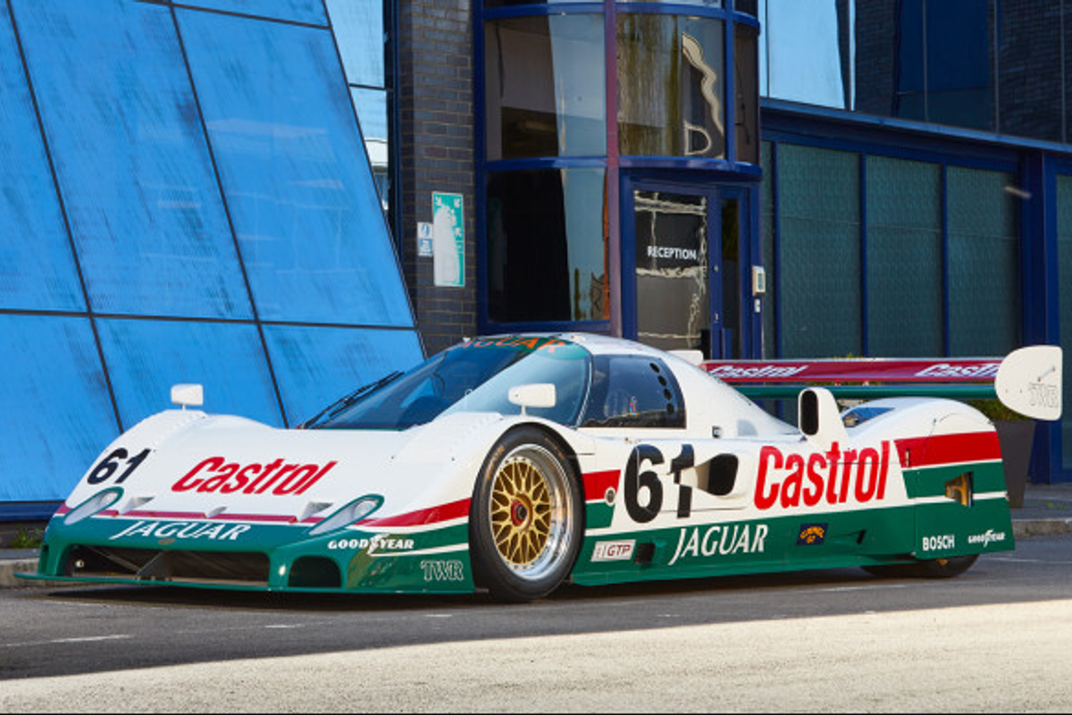 1989 Jaguar XJR-10: successful IMSA GTP Contender on offer ...