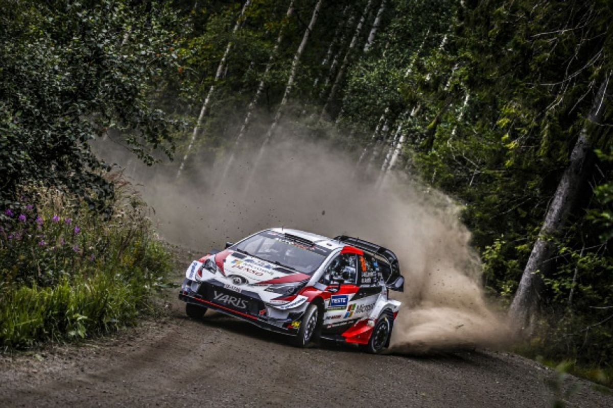 Home hero Latvala grabs slim opening lead in Rally Finland thriller