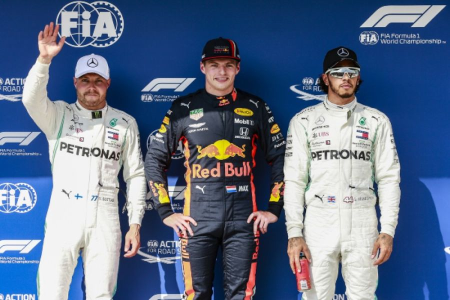 Verstappen takes maiden F1 pole at the Hungarian Grand Prix