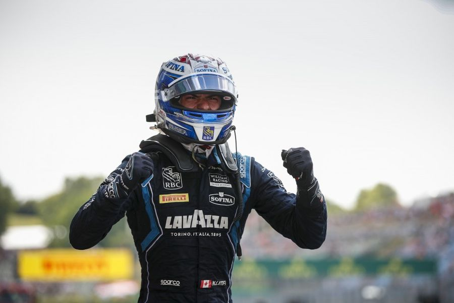 Latifi takes F2 Race of Hungary Feature Race Win