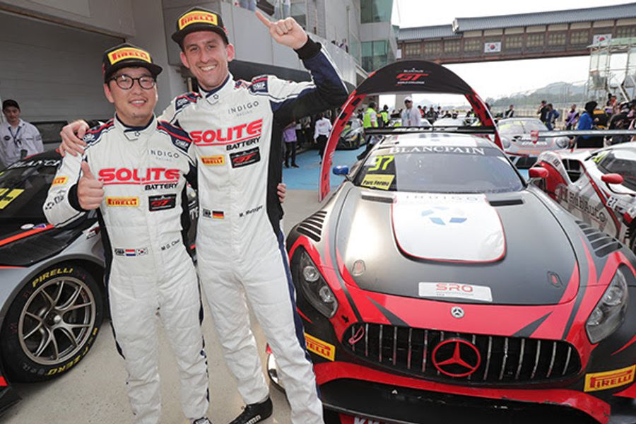 Indigo's Choi and Metzger fight back for Blancpain Asia home win at Yeongam