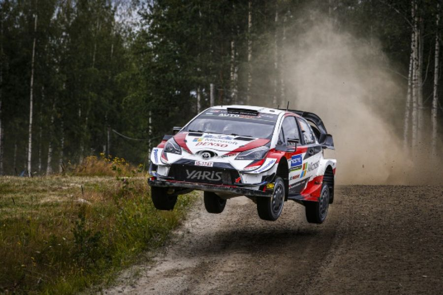 Ott Tänak in charge after furious Rally Finland fight