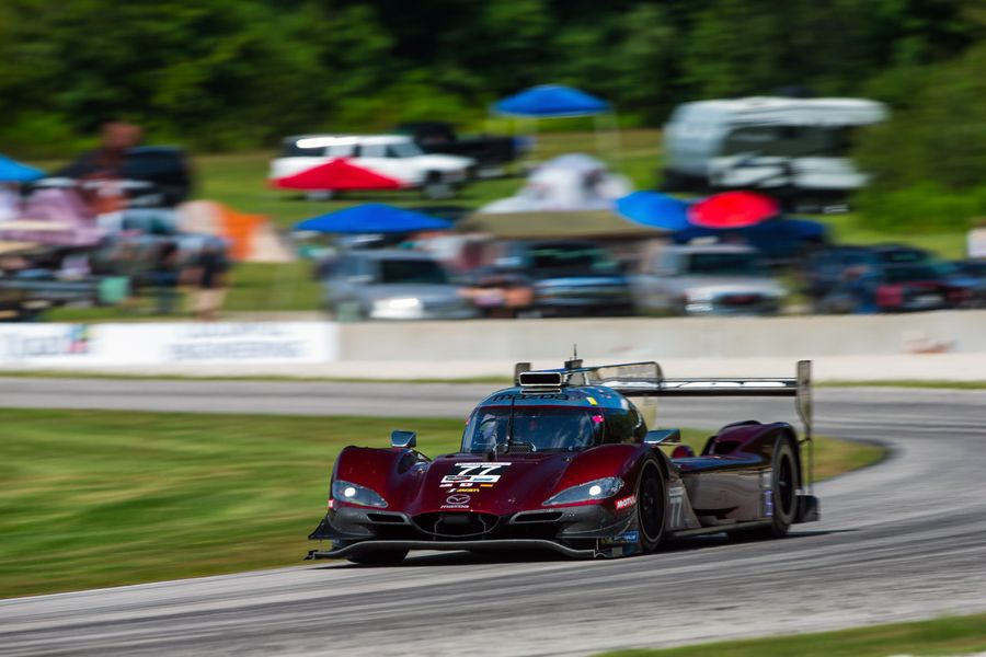 Mazda Team Joest scores IMSA hat-trick with Road America win