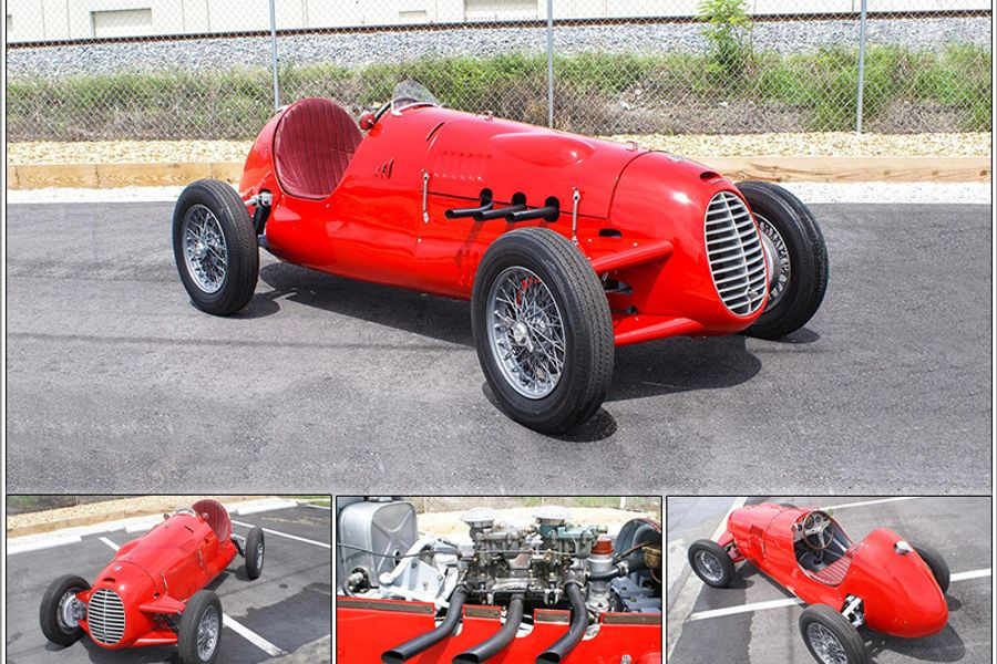 Documented 1947 Cisitalia D46 Monoposto to be sold at the Pacific Grove Auction