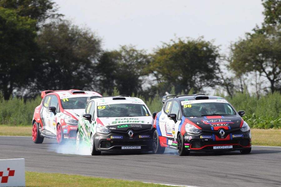 Snetterton Clio Cup wins for Bond & Coates after Young penalised