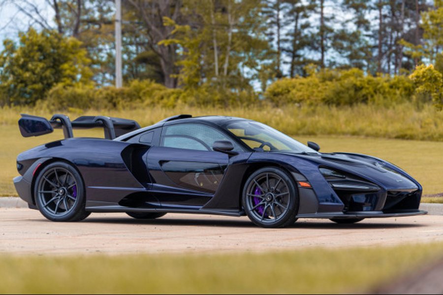2019 McLaren Senna, Less than 100 Miles at Time of Cataloguing