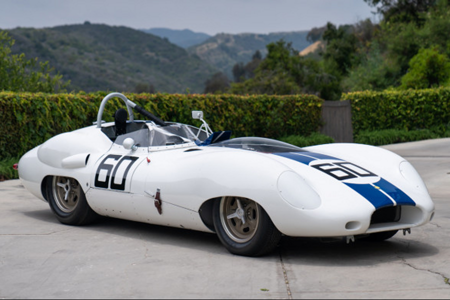 1959 Lister-Jaguar Knobbly to cross the block at Pebble Beach