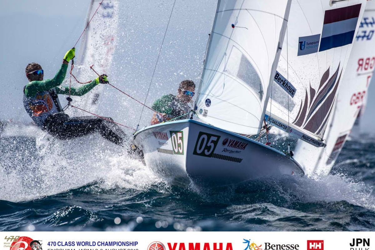 YAMAHA 470 Class World Championship Medals & Tokyo 2020 Olympic Nation Qualies Decided
