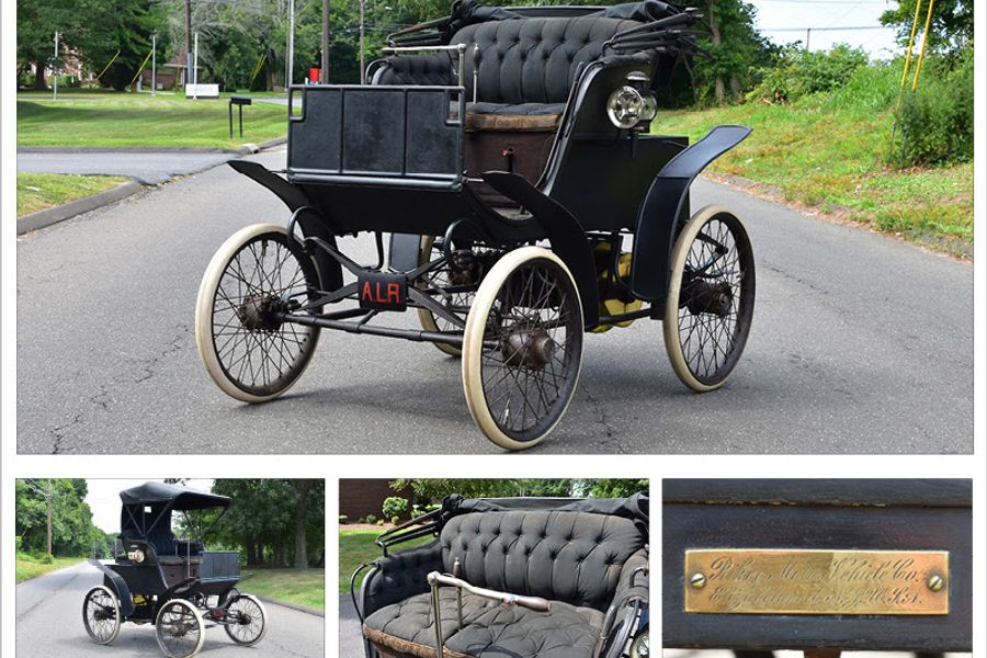 1898 Riker Electric Stanhope: The most important electric car ever built, video