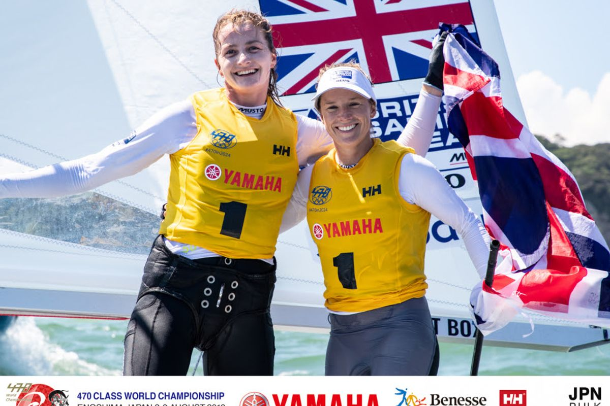 470 World Championship Gold Medals to Australia in Men and Great Britain in Women