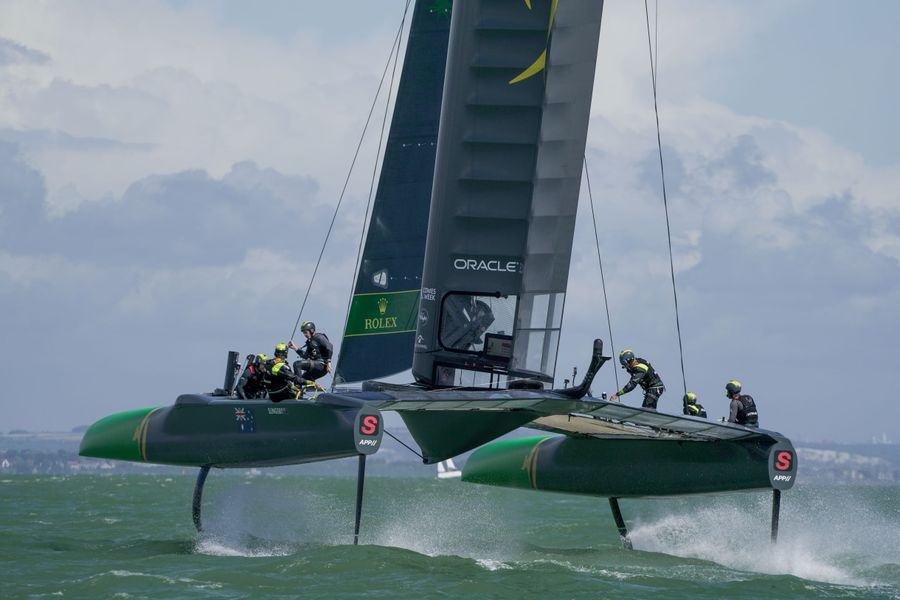 Australia win 3 from 3 in Cowes SailGP,  last stage before the million-dollar final in Marseille