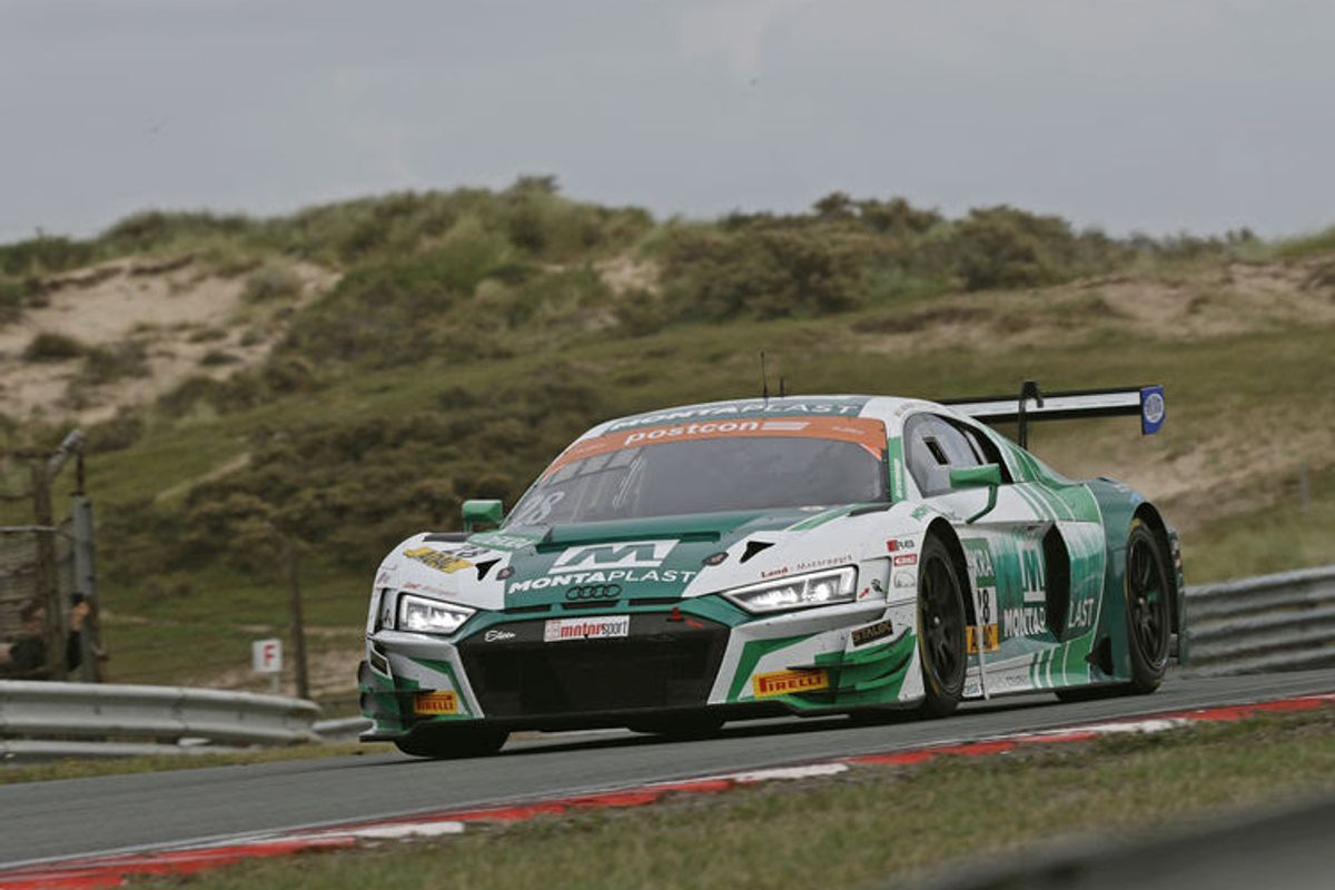 1,2 result and lead of the standings for Audi in ADAC GT Masters
