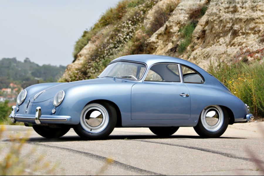 Parade winning 1953 Porsche 356 1500 Coupe on offer at Goodings