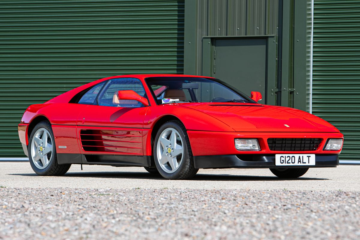 Low mileage, pre-production Ferrari 348 TB to be offered by Silverstone Auctions