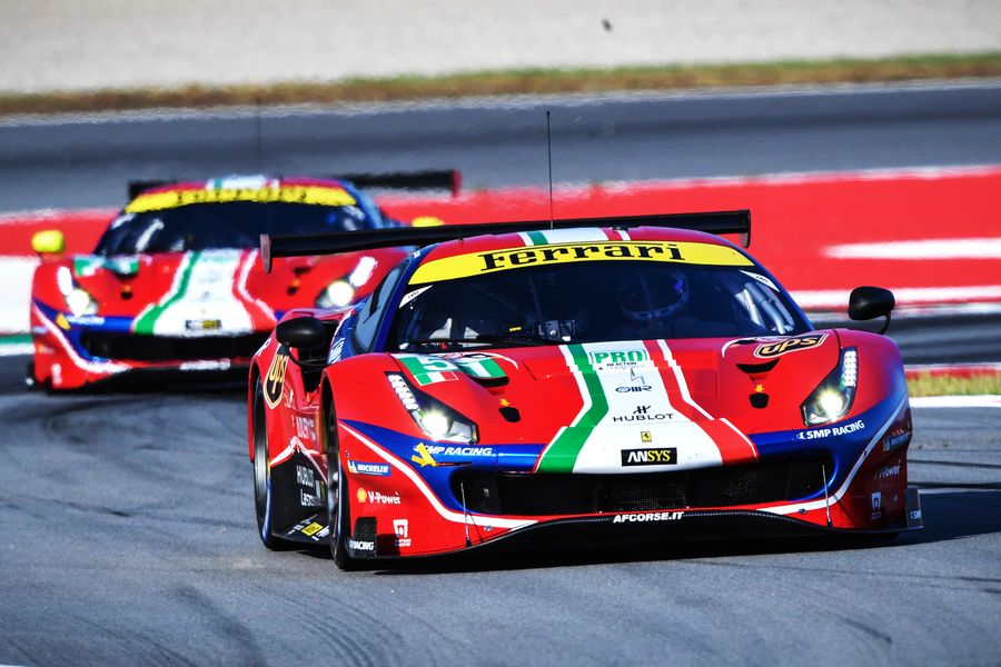 Ferrari LMGTE PRO crews announced for the start of new  WEC Season
