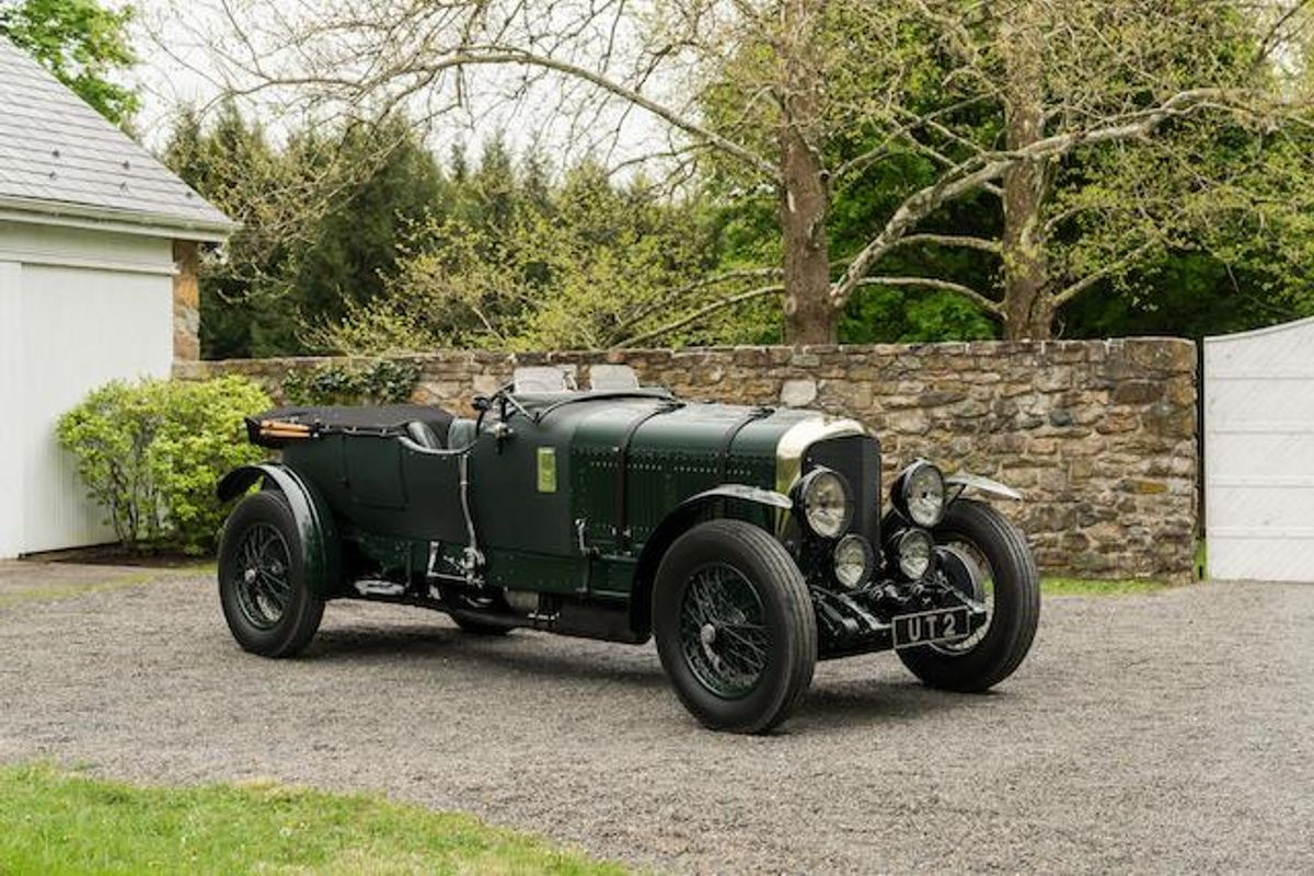 Bentley Speed Six Le Mans Replica Sells for £720,074 at Bonhams, results