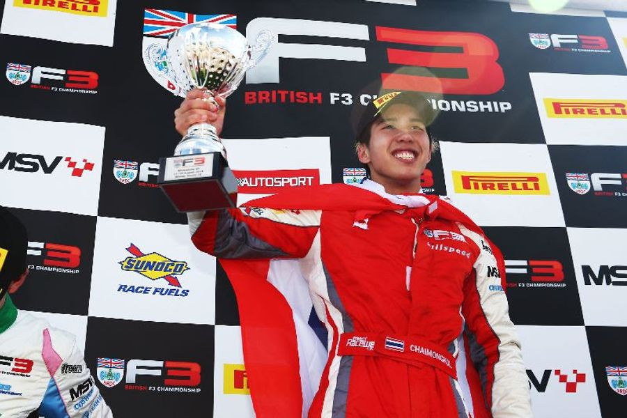 Chaimongkol becomes 13th different F3 winner with Silverstone triumph