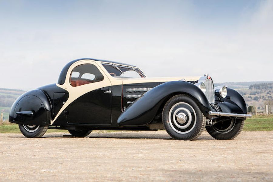 Ultra Rare Bugatti Leads Burnett Collection at Goodwood Revival Sale