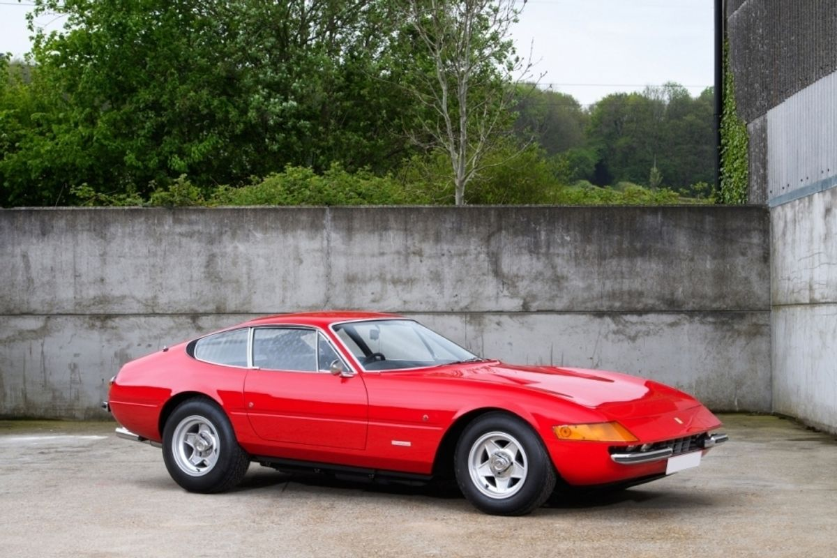 1972 Ferrari 365 GTB/4 Daytona  previously owned by Elton John on offer