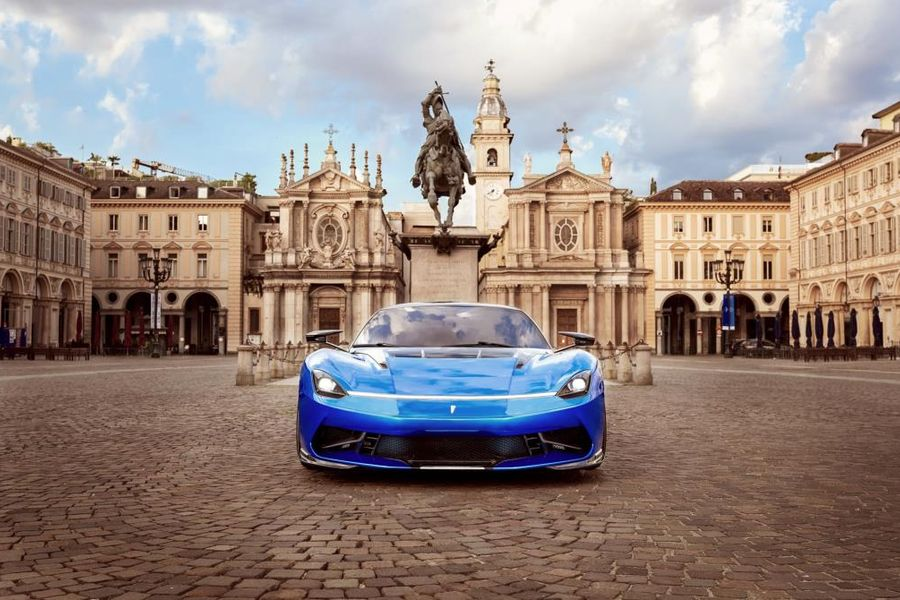 UK debut of stunning enhanced Battista at Salon Privé