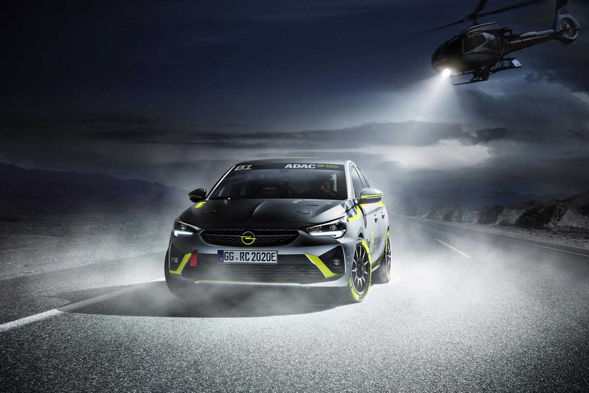 Electric rally car based on Vauxhall Corsa-E to debut in Frankfurt