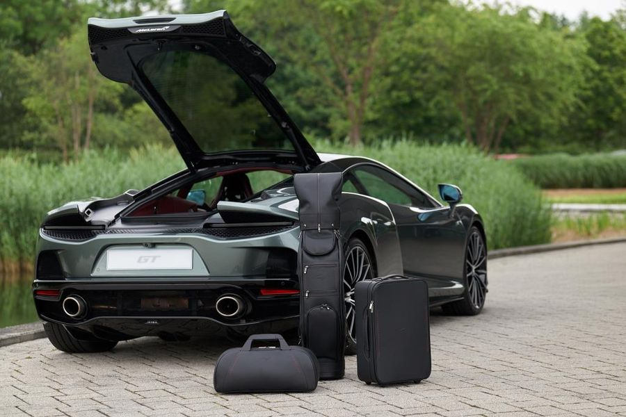 Bespoke luggage collection for the new McLaren GT