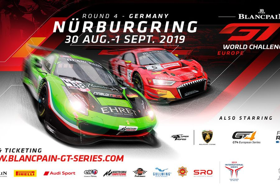 Blancpain GT Europe title battles reach crucial phase at the Nürburgring