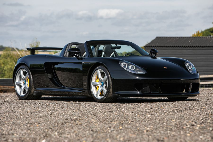 5.5-litre V10 engined Porsche Carrera GT at Silverstone Auctions