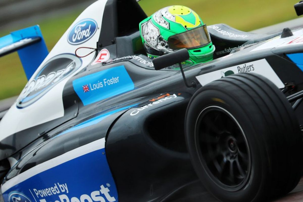 F4 racer Louis Foster named BRDC Rising Star
