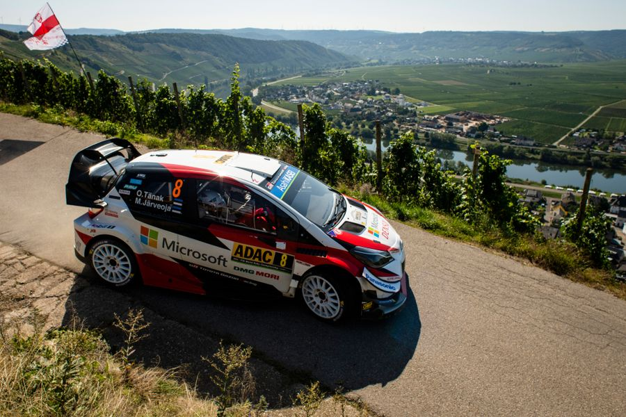Tänak holds off Neuville for early Rallye Deutschland lead