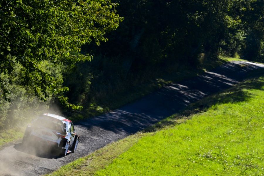Tanak extends Rally Deutschland lead Saturday morning