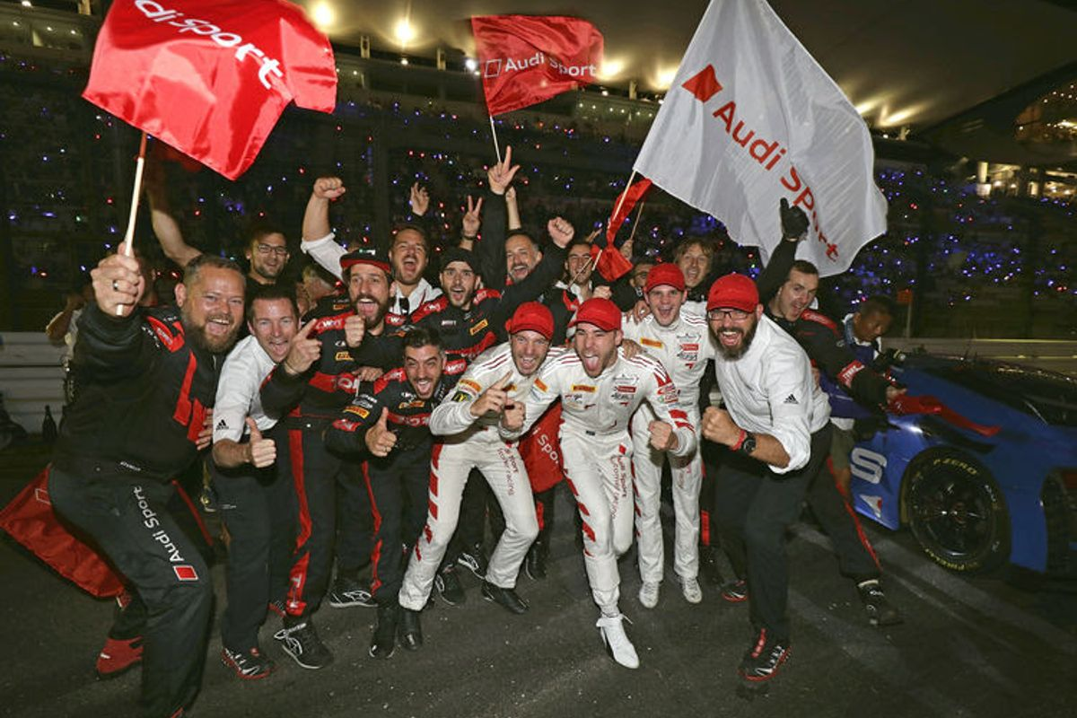 Vervisch, van der Linde and Vanthoor win 10 Hours of Suzuka for Audi