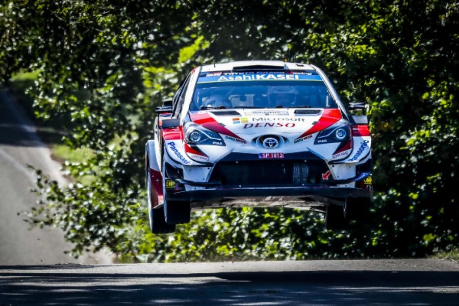 Ott Tanak completes hat-trick on Rally Germany