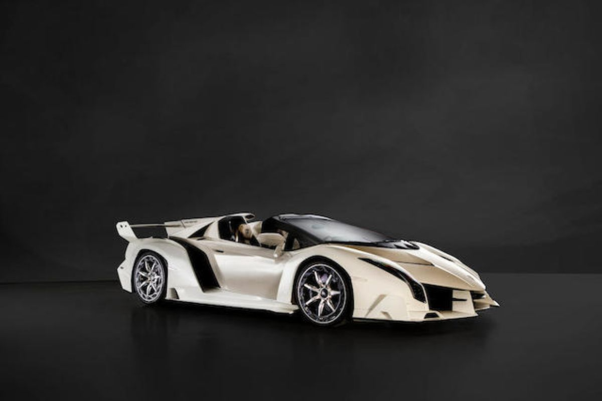 2014 Lamborghini Veneno Roadster at Bonhams Bonmont Sale