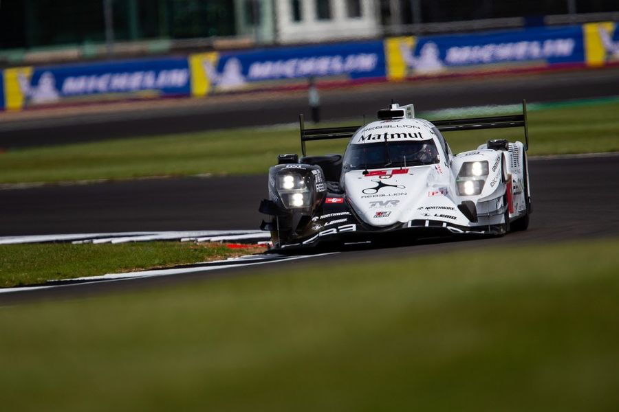 Rebellion out in front in Silverstone WEC FP1