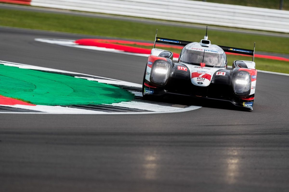 Toyota Gazoo Racing TS050 Hybrid on pole for 4 hrs of Silverstone
