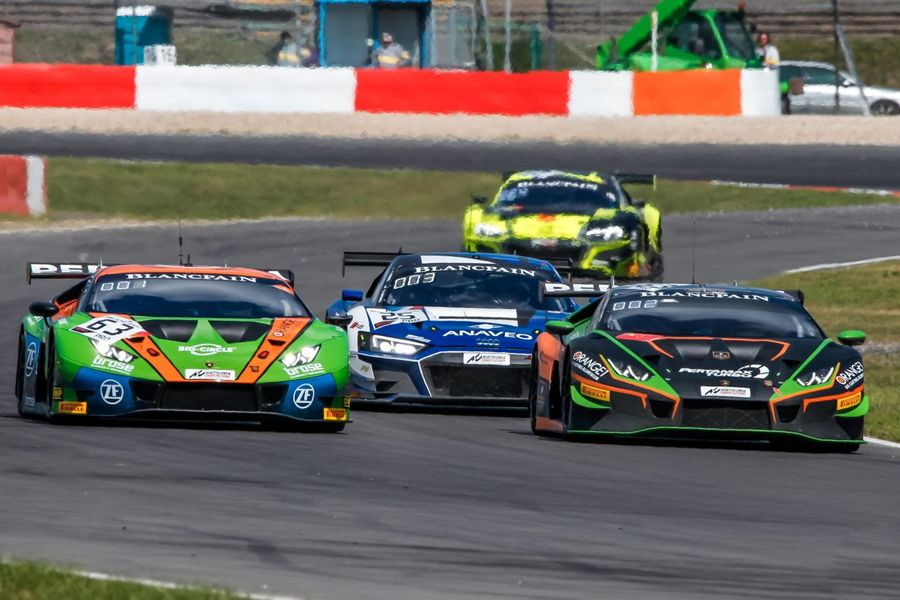 Caldarelli, Mapelli seize Blancpain GT advantage at the Nürburgring