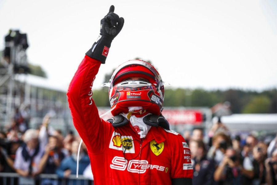 Leclerc takes emotional debut win at Spa