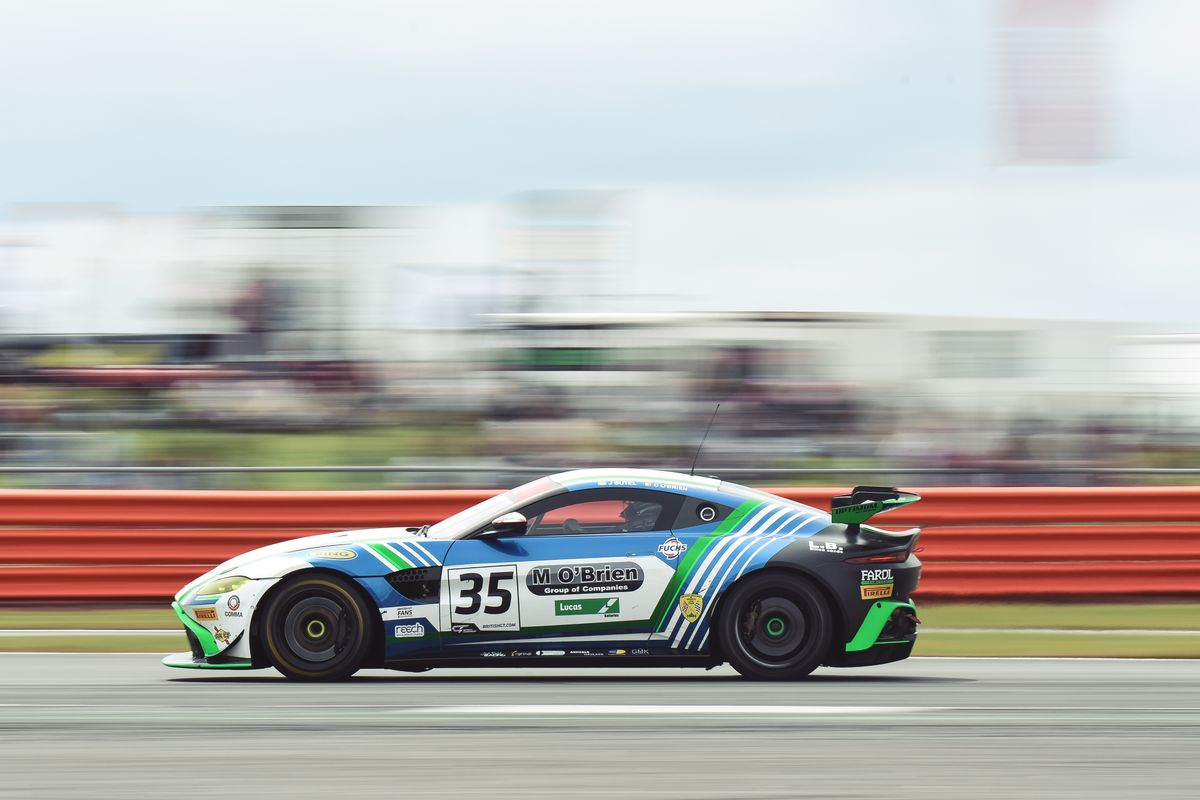 Optimum to field GT4 Vantage for O'Brien and Eastwood at Silverstone
